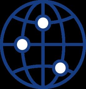 blue marketing online icon