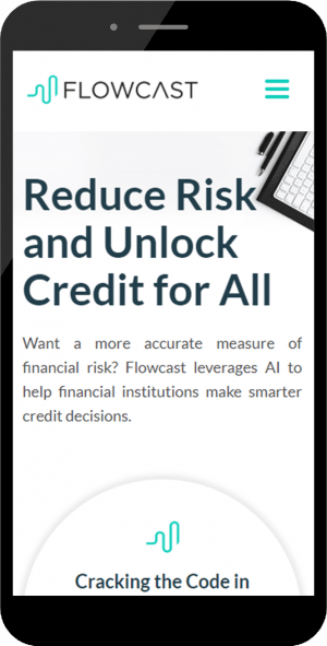 saas business web design mobile screenshot