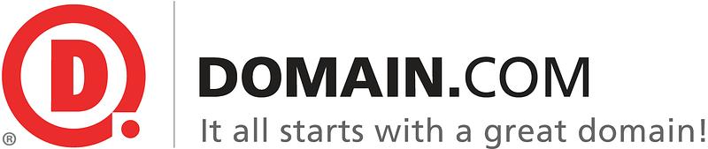 domain .com logo
