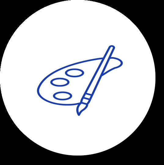 graphic icon paintbrush