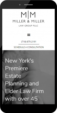 law firm mobile web design