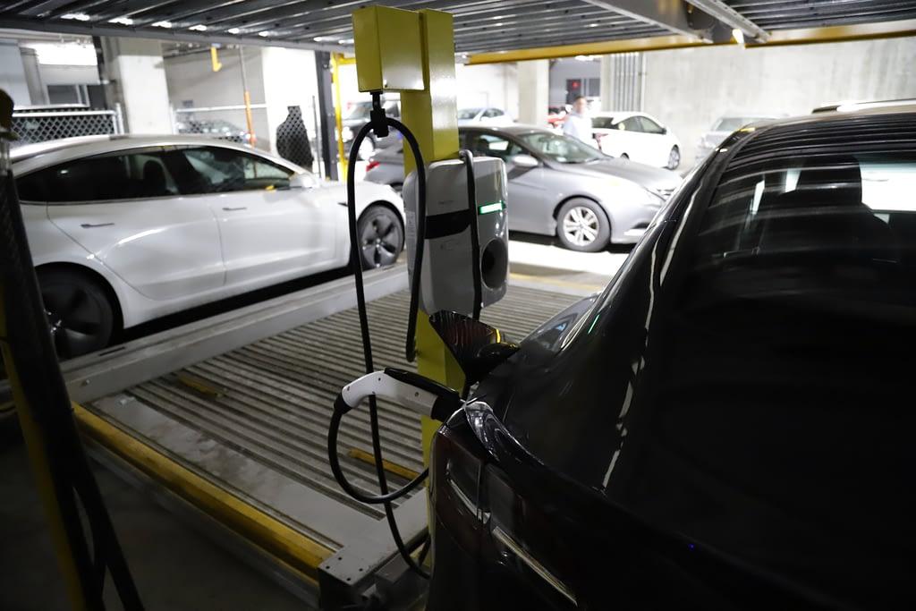 electric vehicle charging convenient parking solution